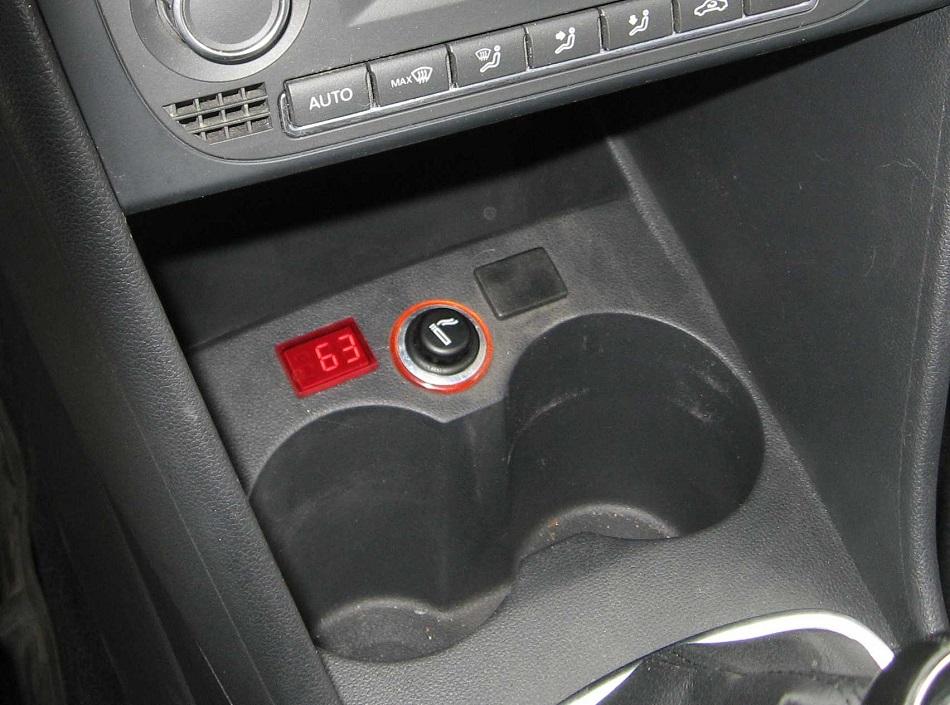 Индикатор температуры двигателя VW POLO