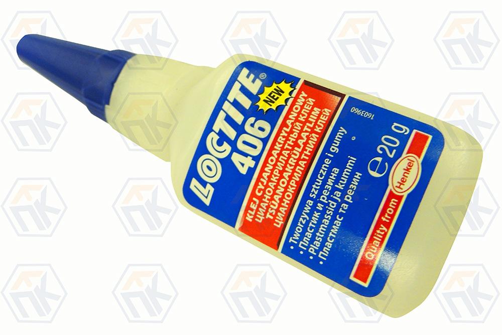 Loctite 406, клей цианоакрилатный, 20гр.(Локтайт 406)
