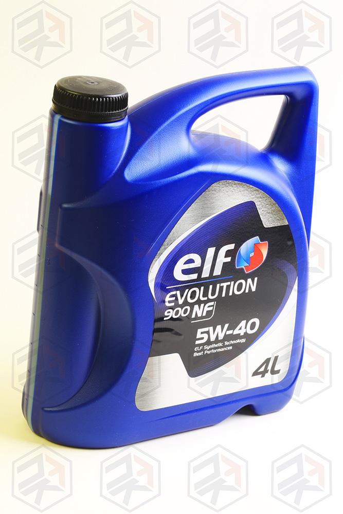 Масло моторное ELF Evolution 900 NF 5W40, 4л
