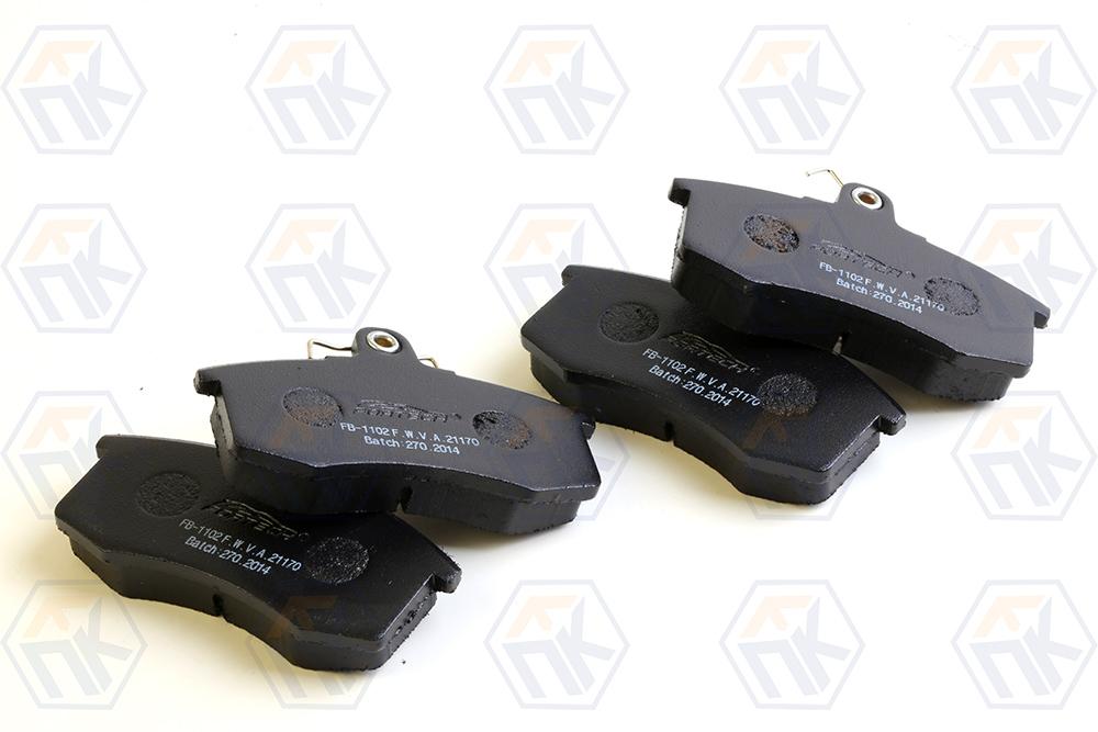 Комплет передних тормозных колодок Fortech FB-1102F (2108)