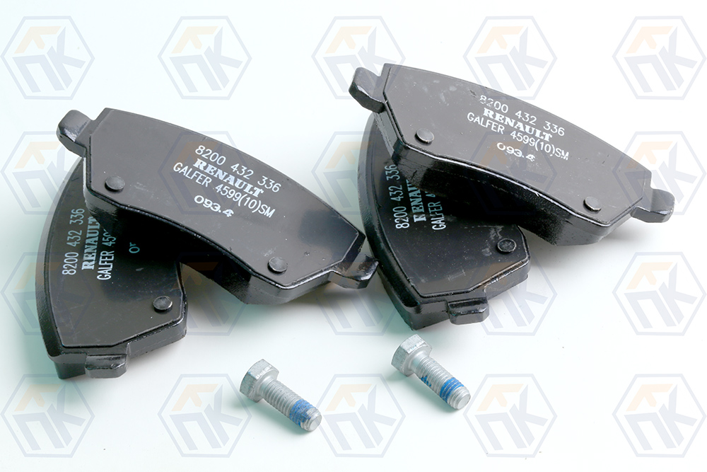 Колодки тормозные передние LADA VESTA 410608481R