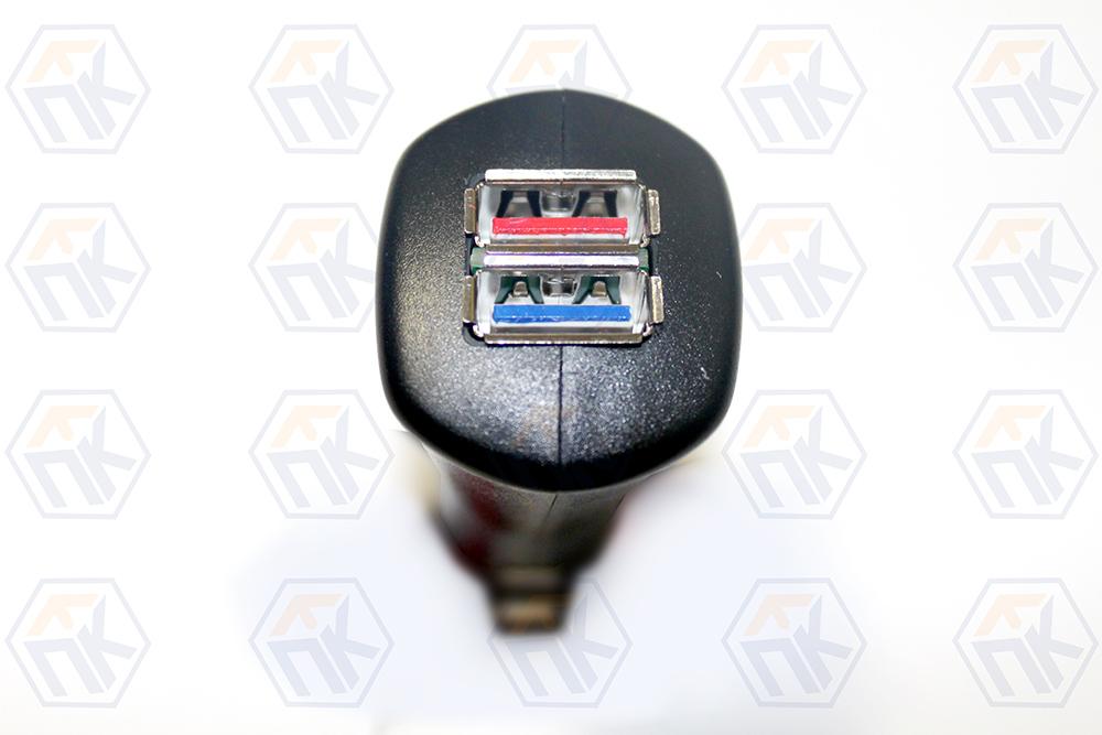 USB зарядное устройство для автомобильного прикуривателя