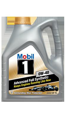 Масло моторное MOBIL 1 0W40, 4л.