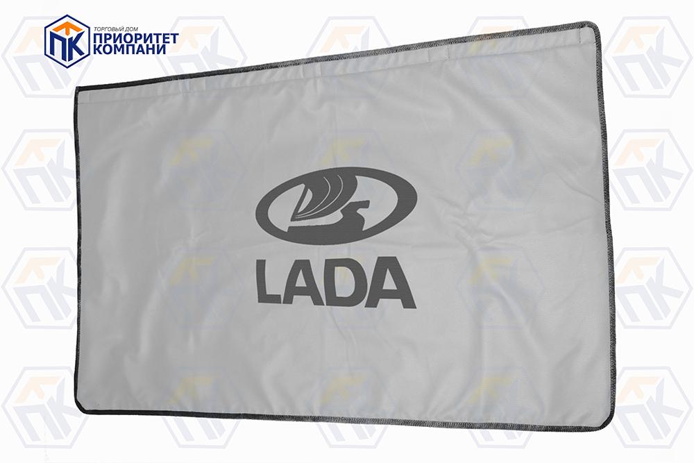 Накидка магнитная с логотипом LADA, с подкладкой, без выреза