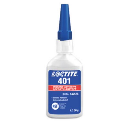 Loctite 401, клей цианоакрилатный, 50мл.(Локтайт 401)