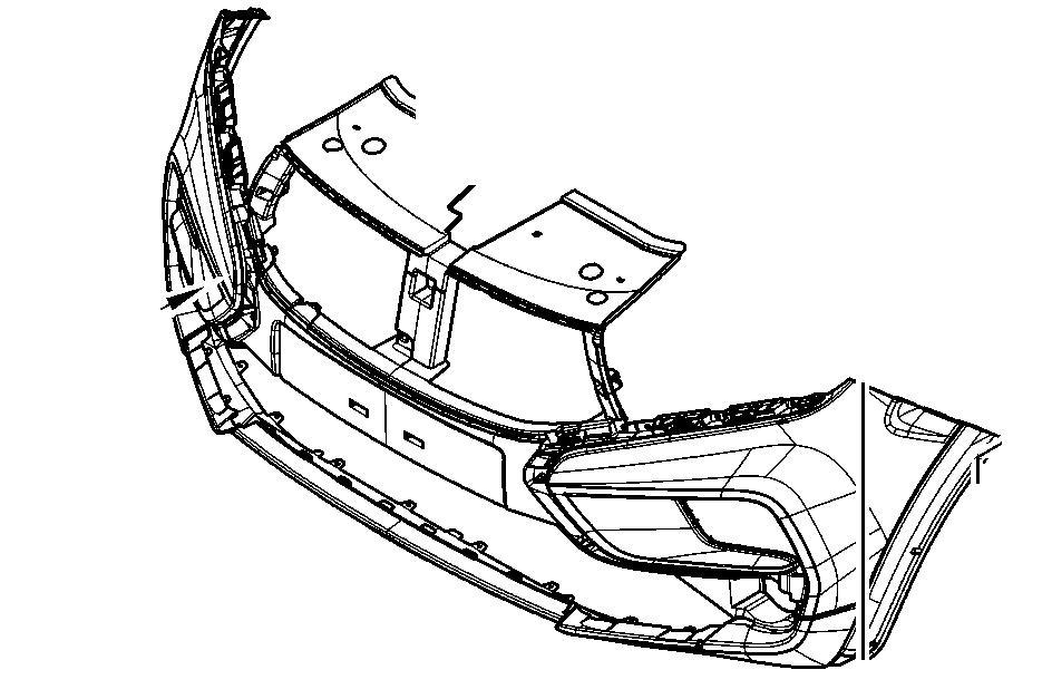 Бампер передний XRAY под окраску