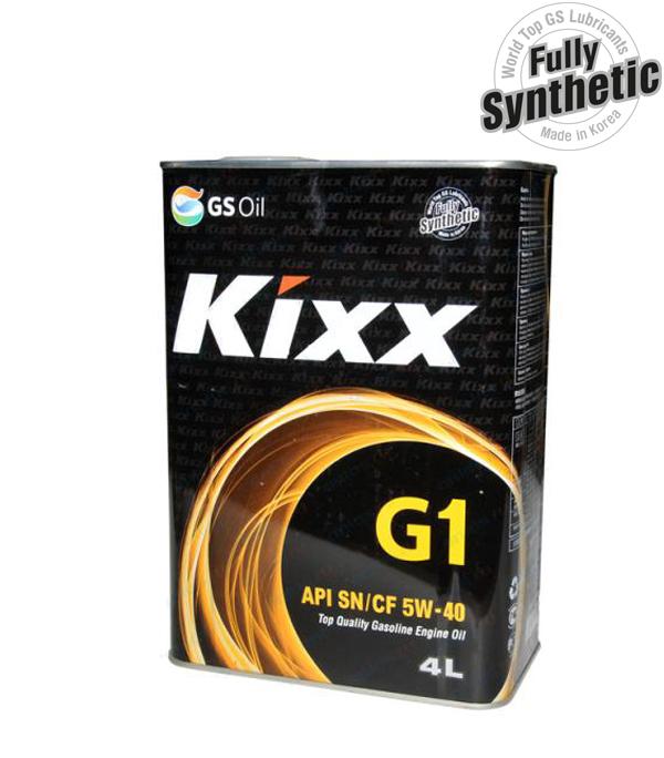 Масло моторное KIXX G1 5W40 SN/CF, 4л.