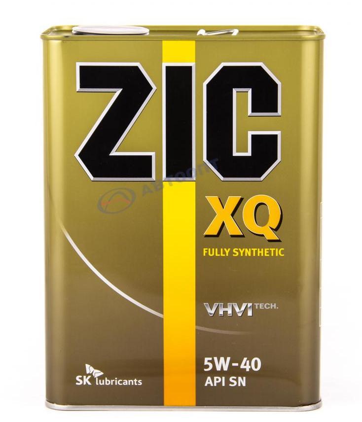 Масло моторное ZIC XQ 5W40, 4л.