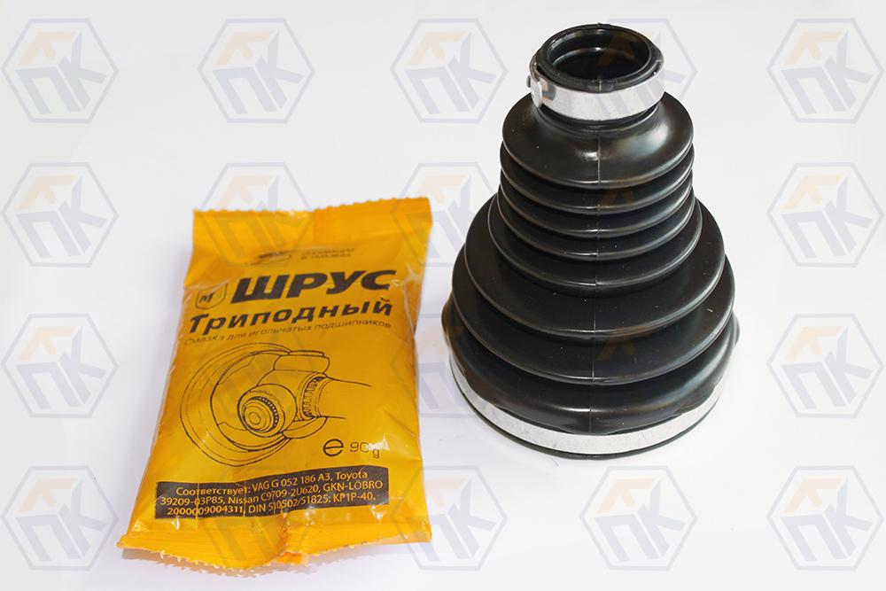 Шрус внутренний LARGUS кпп JR5 установочный комплект (шрус, пыльник, хомуты, кольцо, смазка)