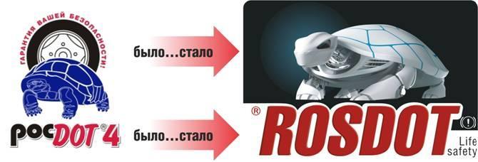 Тормозная жидкость ROSDOT-4, 910гр.