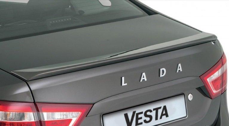 Спойлер Vesta XV Line, неокрашенный